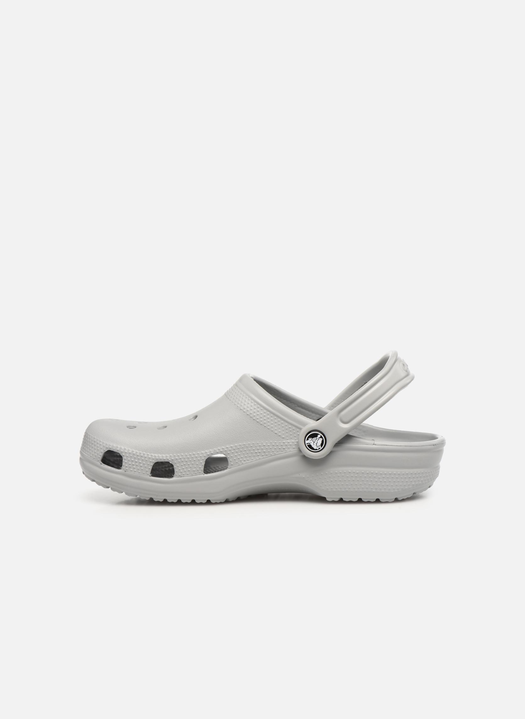 Sandaler Crocs Classic H Grå bild från framsidan