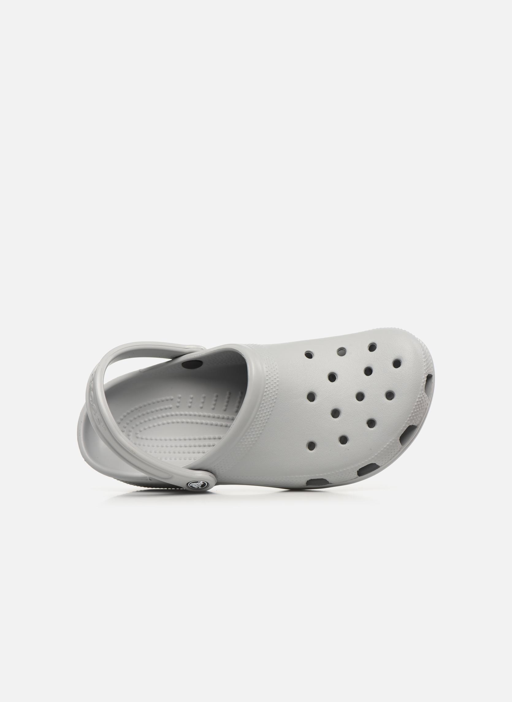 Sandales et nu-pieds Crocs Classic H Gris vue gauche