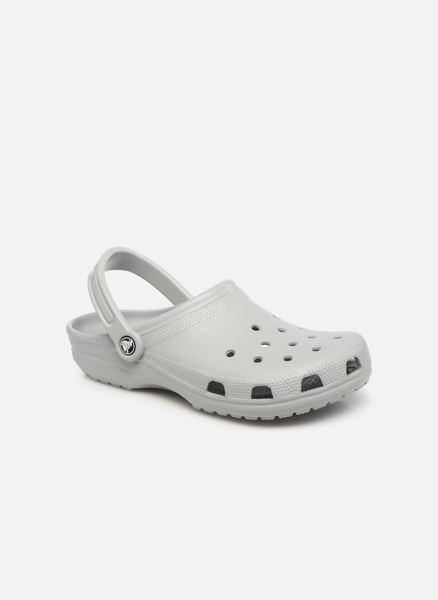 Sandaler Crocs Classic H Grå detaljerad bild på paret