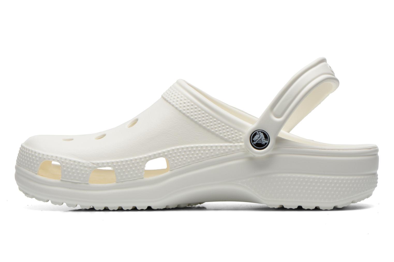 Sandales et nu-pieds Crocs Classic H Blanc vue face