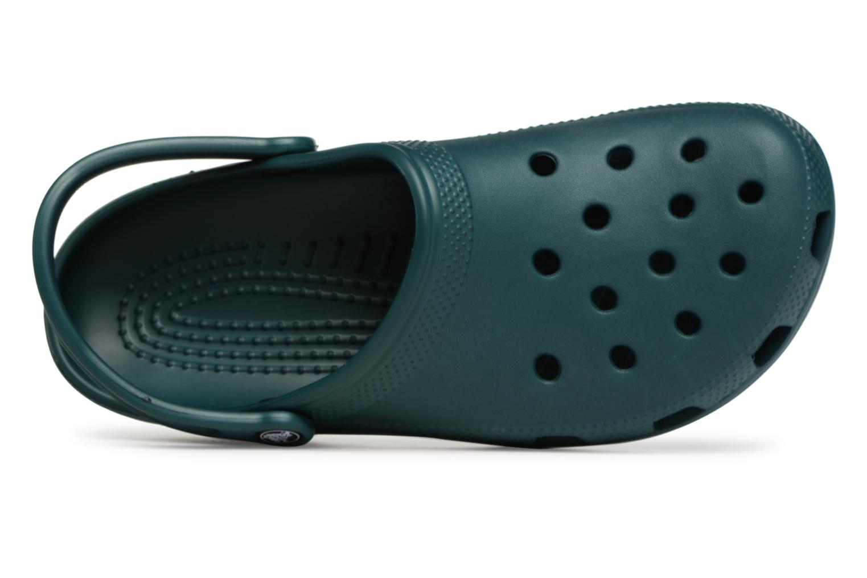 Sandales et nu-pieds Crocs Classic H Vert vue gauche