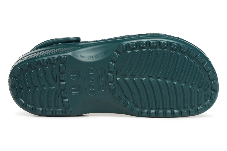 Sandales et nu-pieds Crocs Classic H Vert vue haut