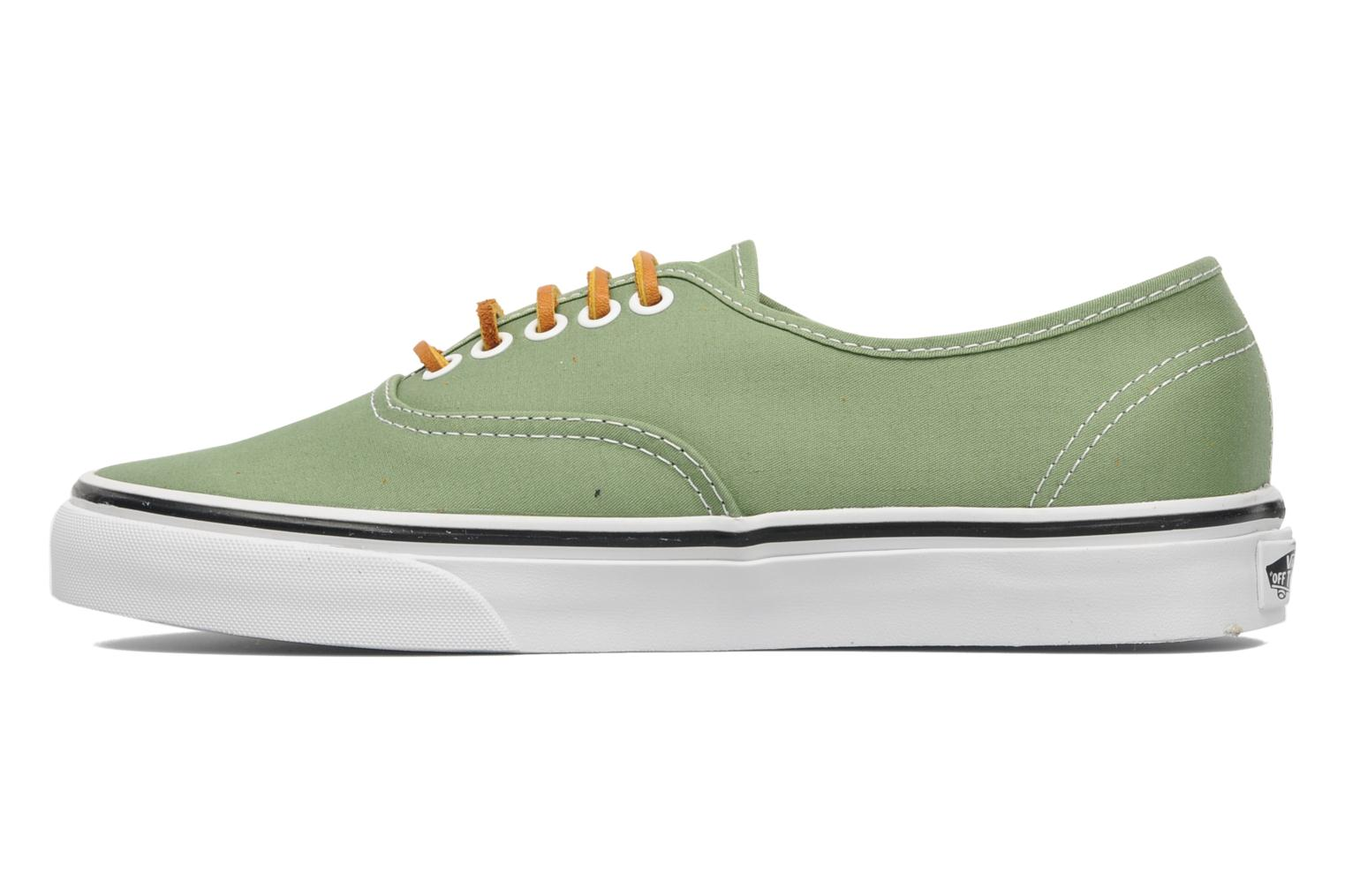 Baskets Vans Authentic Vert vue face