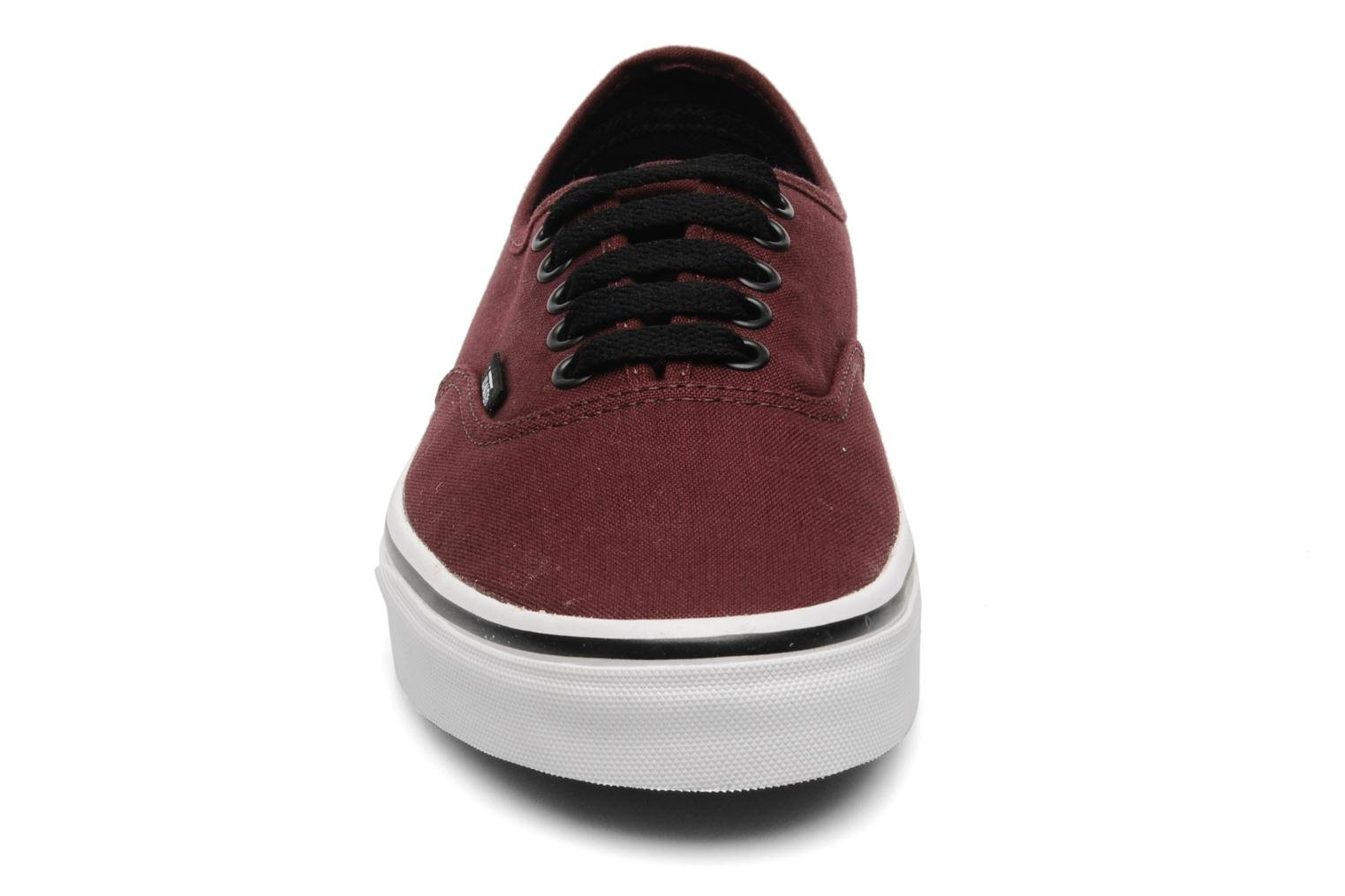 Trainers Vans Authentic Burgundy model view