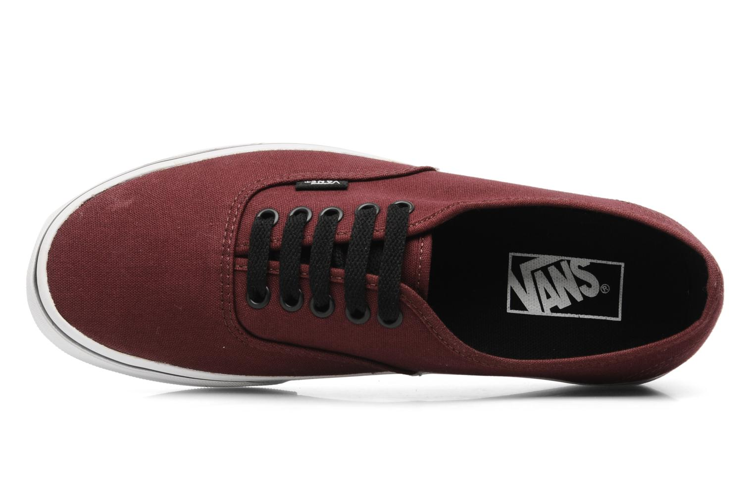 Sneakers Vans Authentic Bordeaux links