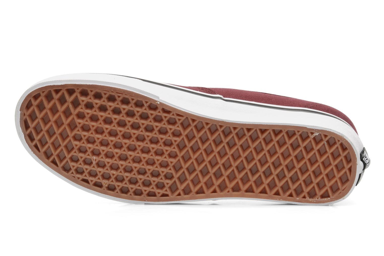 Sneakers Vans Authentic Bordeaux boven