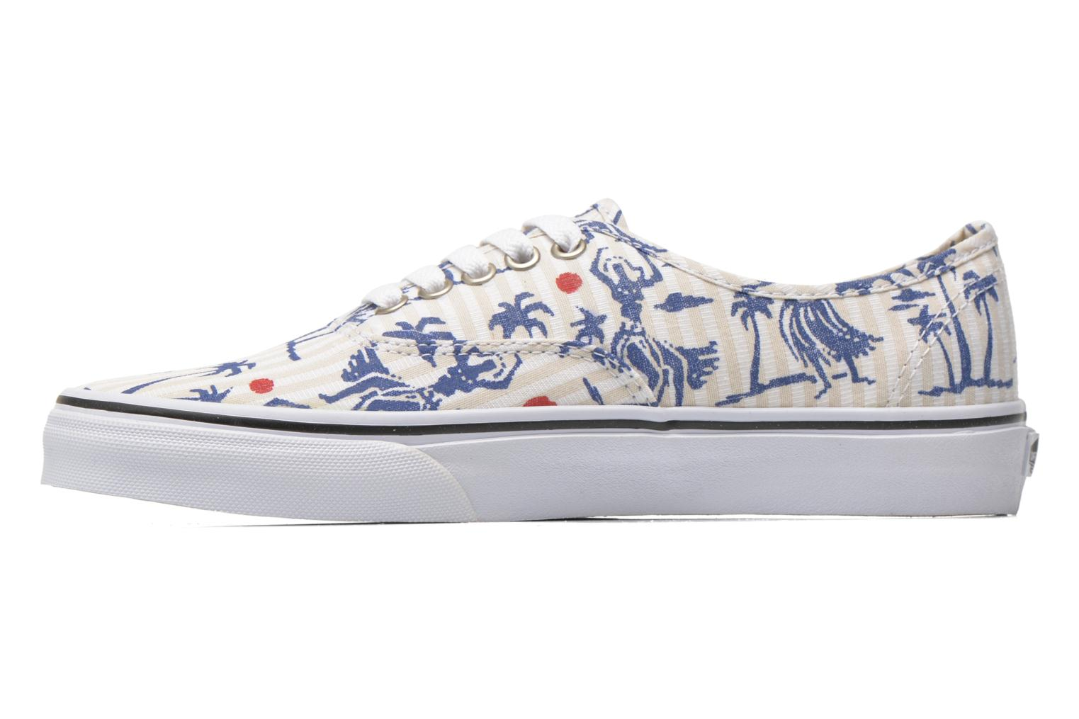 Authentic (hula stripes) True White