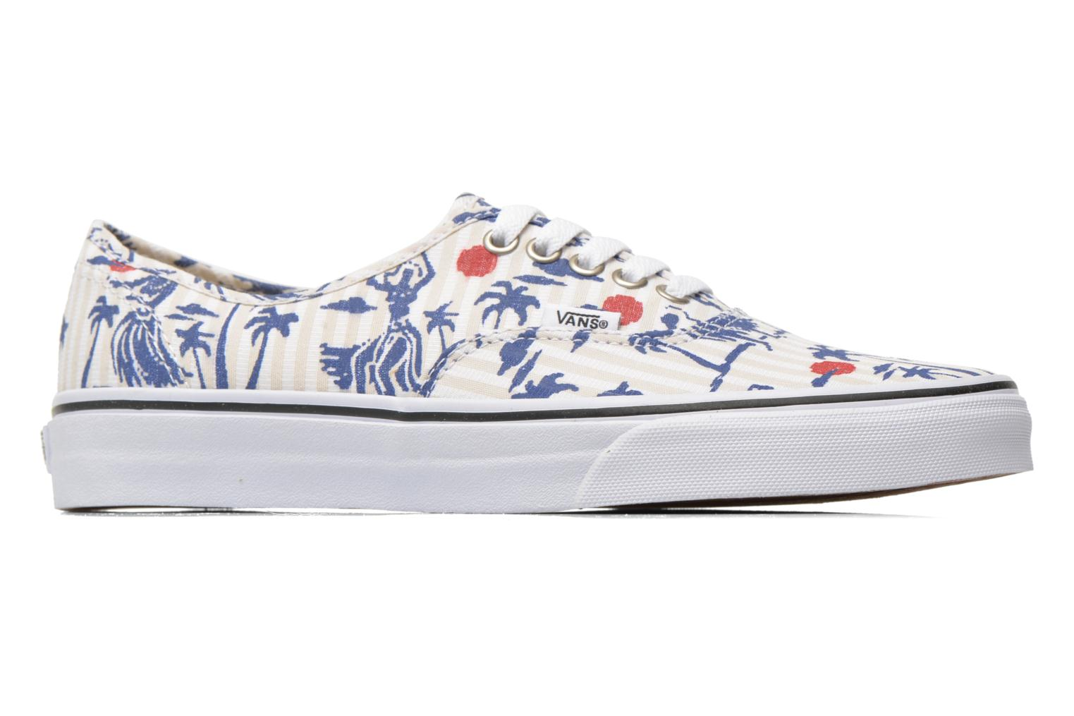 Baskets Vans Authentic Multicolore vue derrière