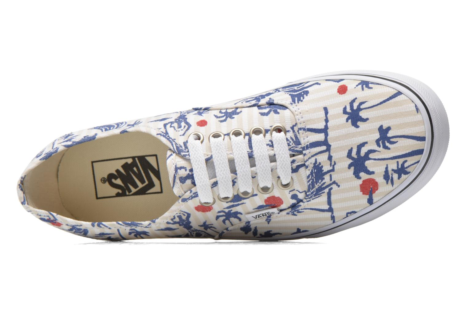 Trainers Vans Authentic Multicolor view from the left