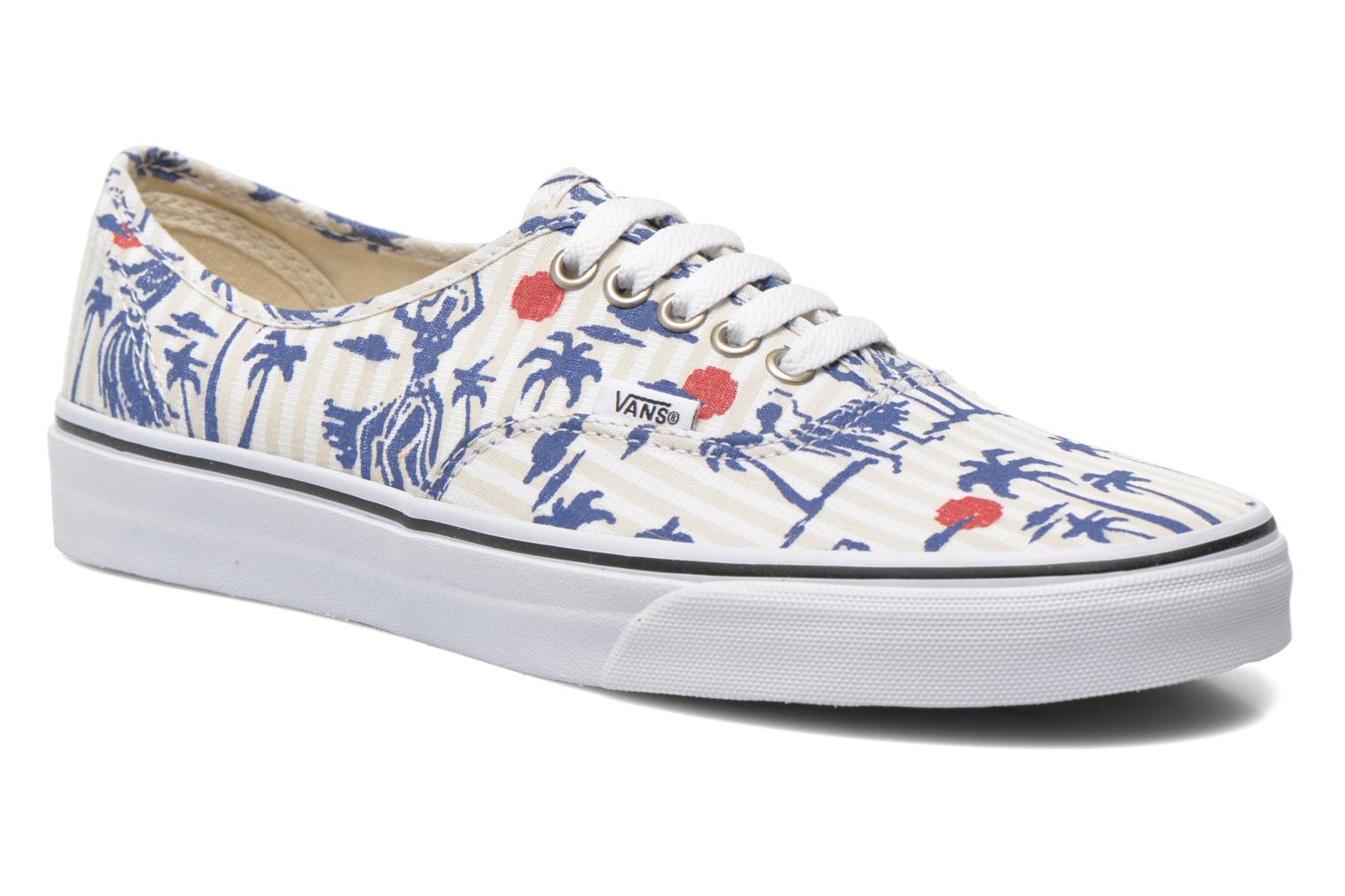 Baskets Vans Authentic Multicolore vue détail/paire