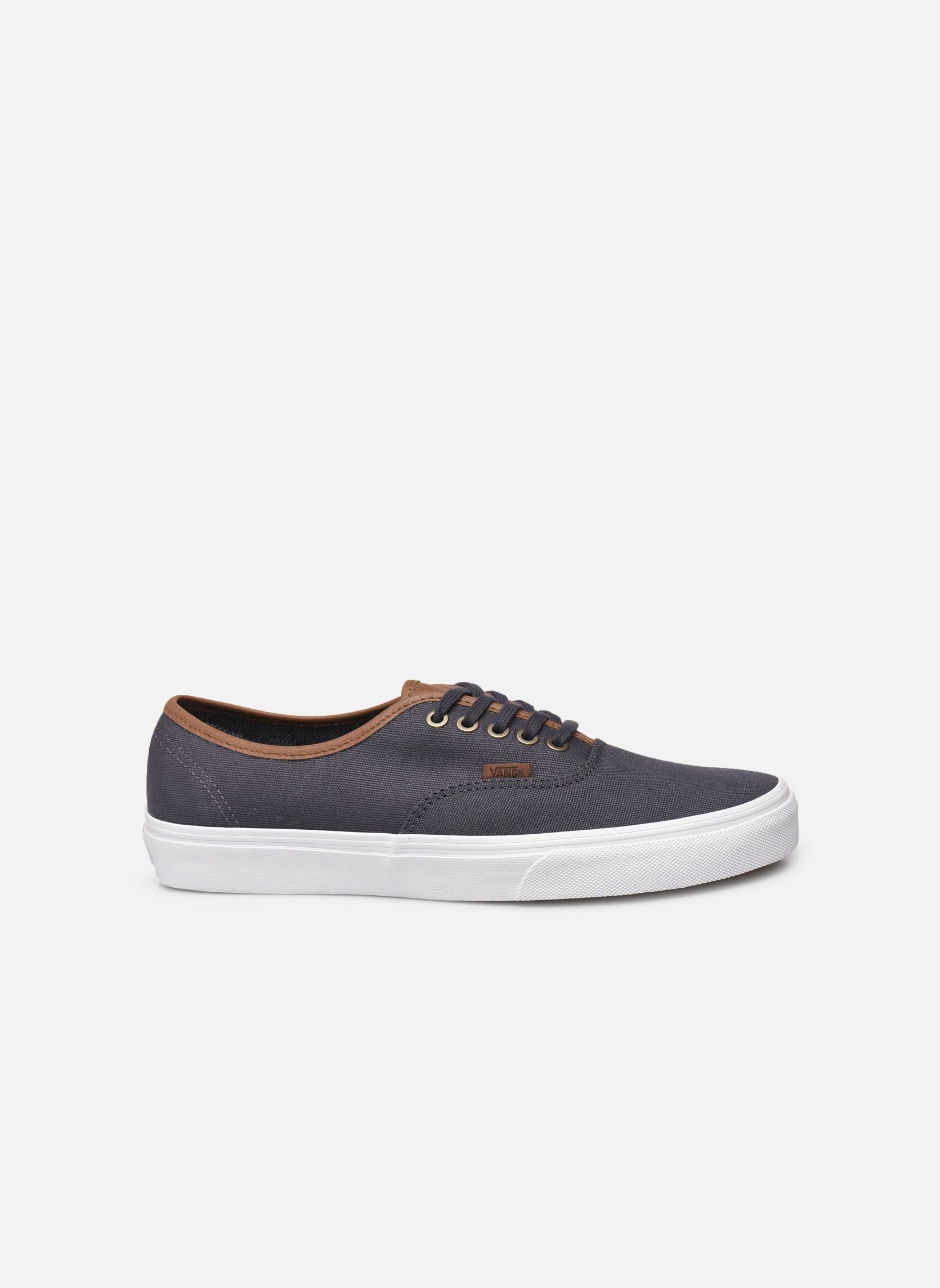 Baskets Vans Authentic Gris vue derrière