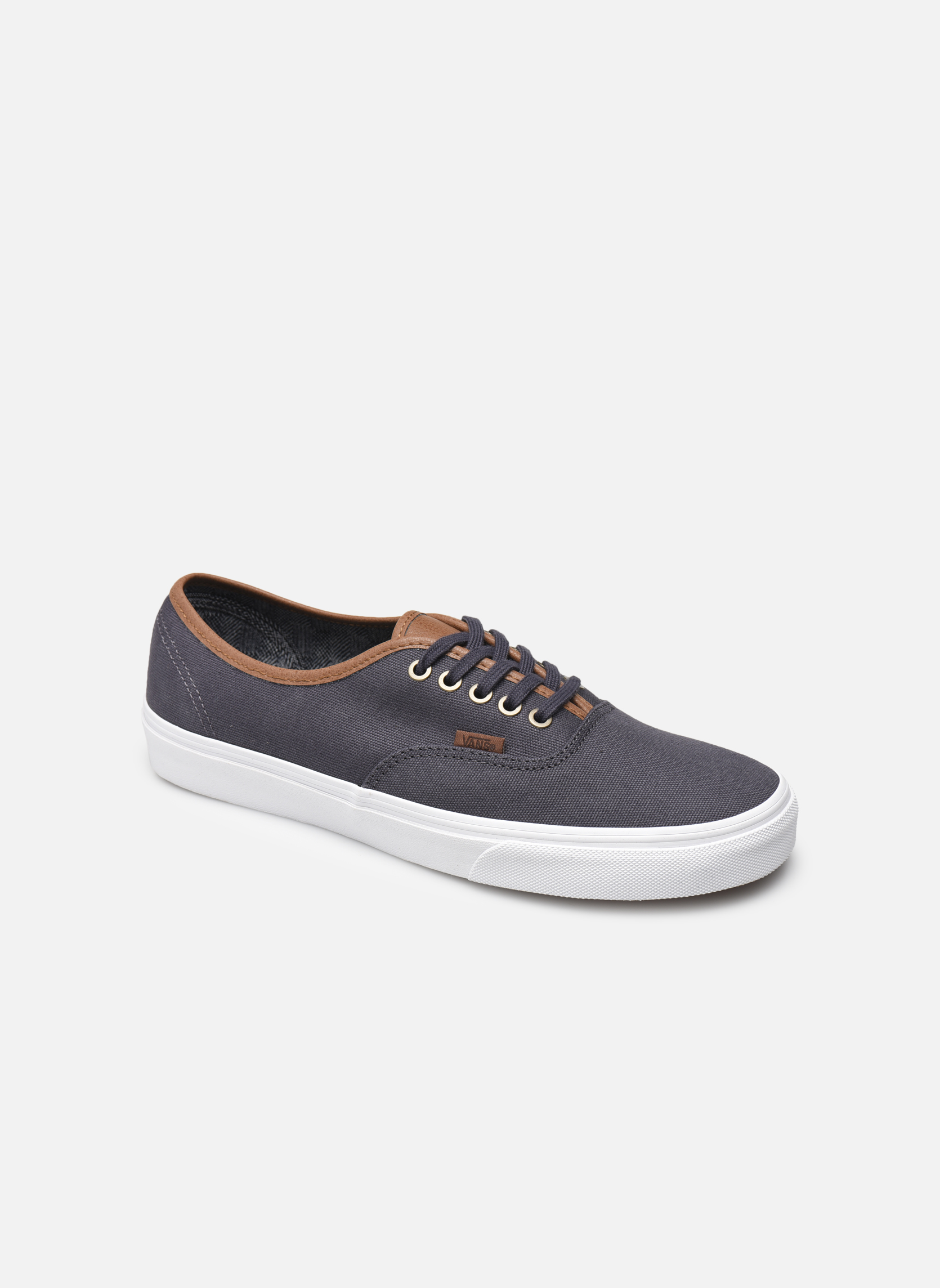 Baskets Vans Authentic Gris vue détail/paire