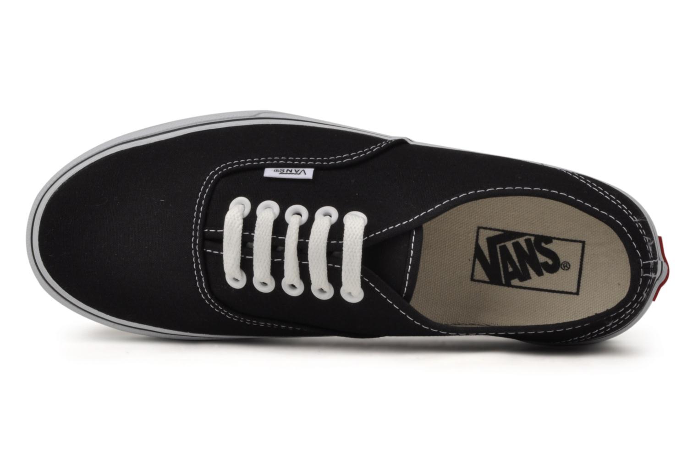 Sneaker Vans Authentic schwarz ansicht von links