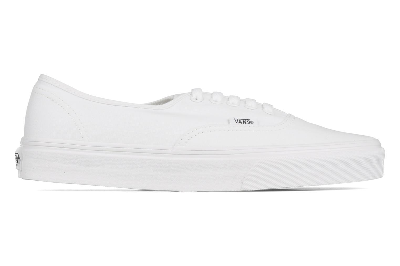 Sneaker Vans Authentic weiß ansicht von hinten