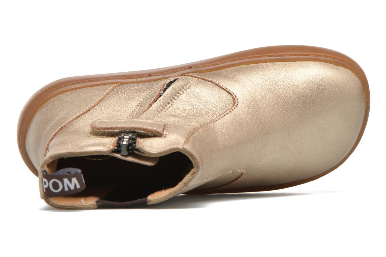 Boots en enkellaarsjes Pom d Api Walk Jodpur Basic Goud en brons links