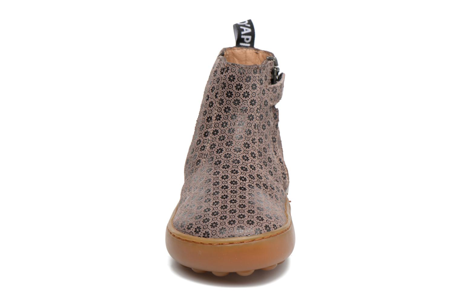 Ankle boots Pom d Api Walk Jodpur Basic Brown model view