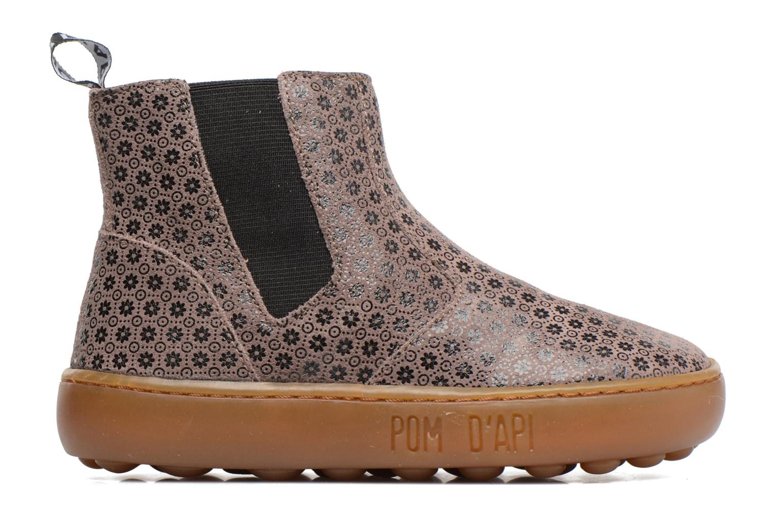 Ankle boots Pom d Api Walk Jodpur Basic Brown back view