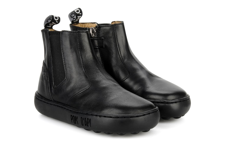 Boots en enkellaarsjes Pom d Api Walk Jodpur Basic Zwart 3/4'