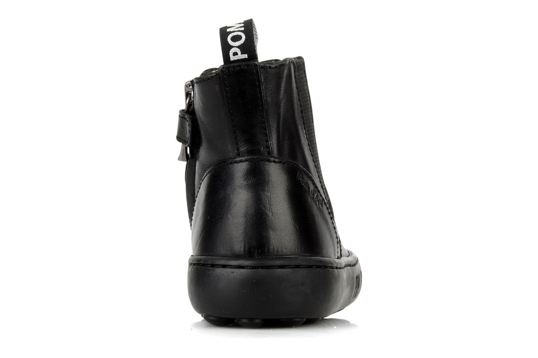 Boots en enkellaarsjes Pom d Api Walk Jodpur Basic Zwart rechts