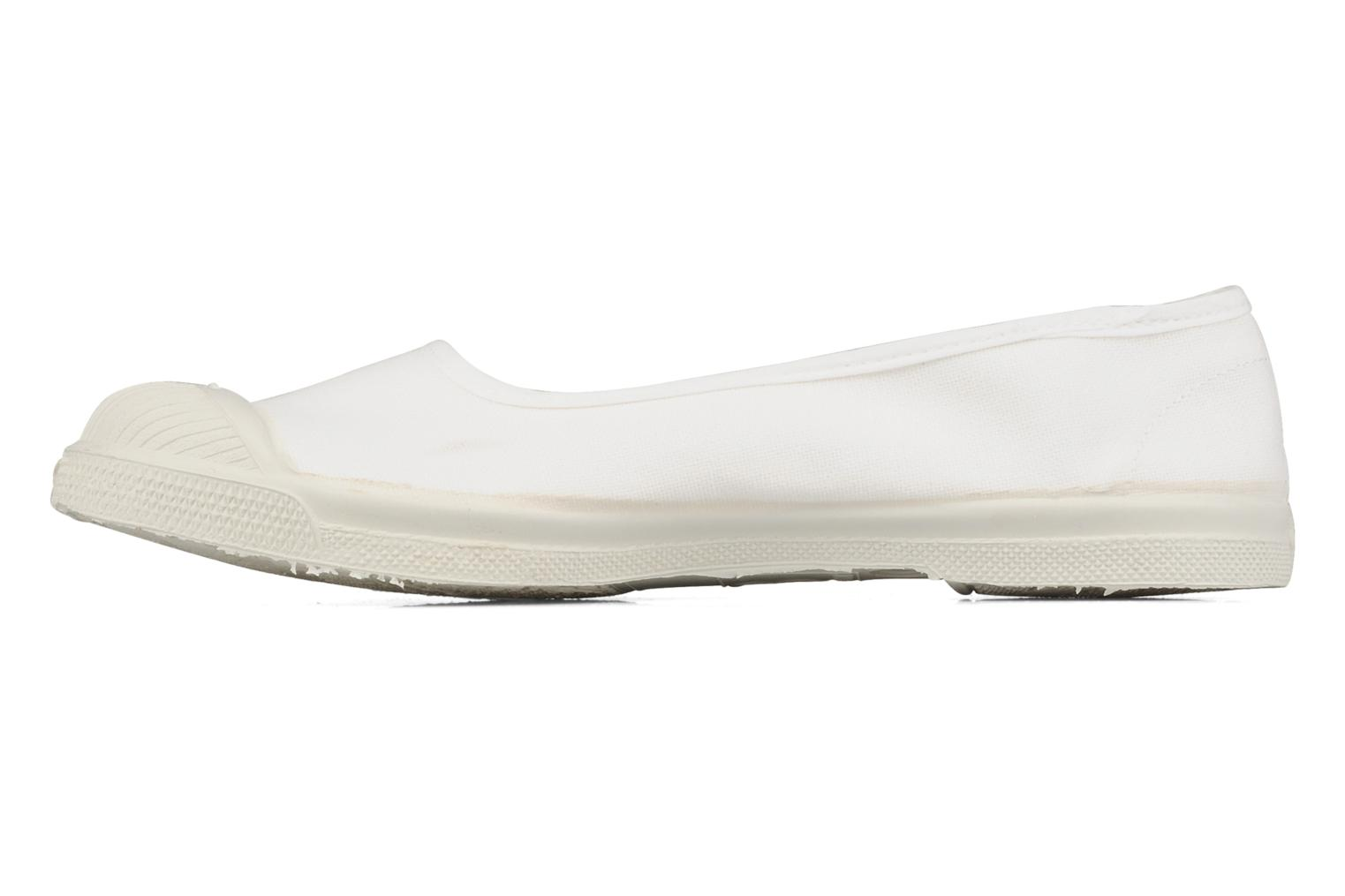 Ballet pumps Bensimon Ballerine White front view