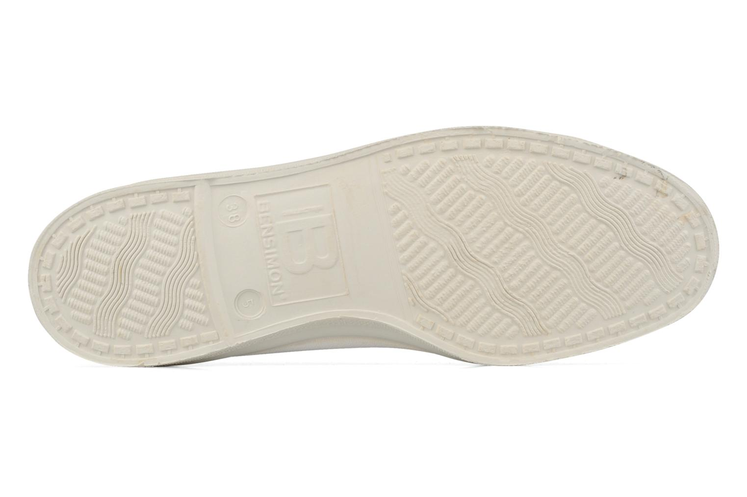 Ballet pumps Bensimon Ballerine White view from above