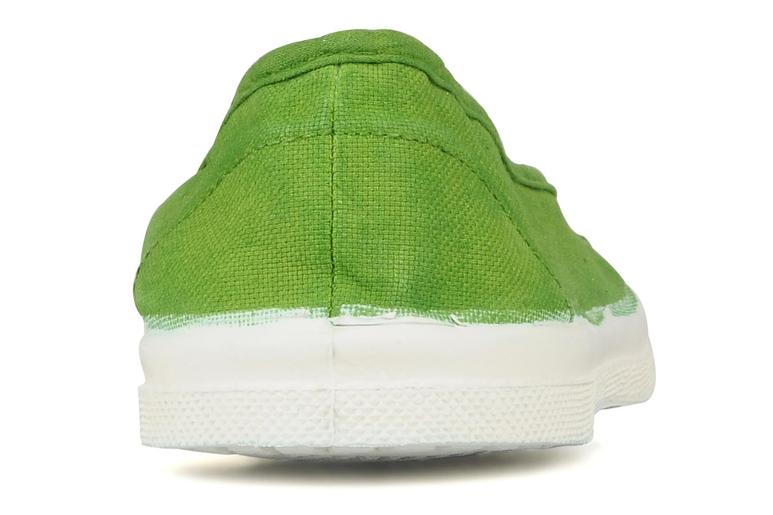 Ballet pumps Bensimon Ballerine Green view from the right