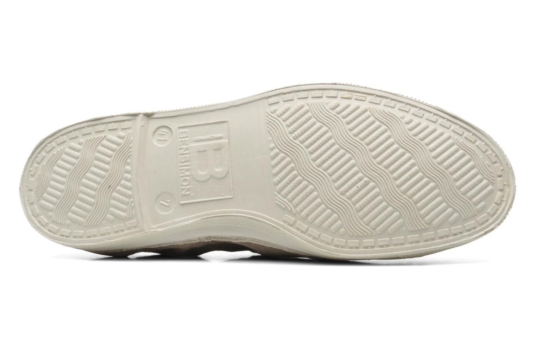 Sneaker Bensimon Tennis Lacets H beige ansicht von oben