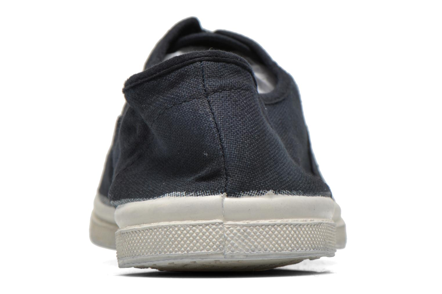 Sneakers Bensimon Tennis Lacets H Zwart rechts