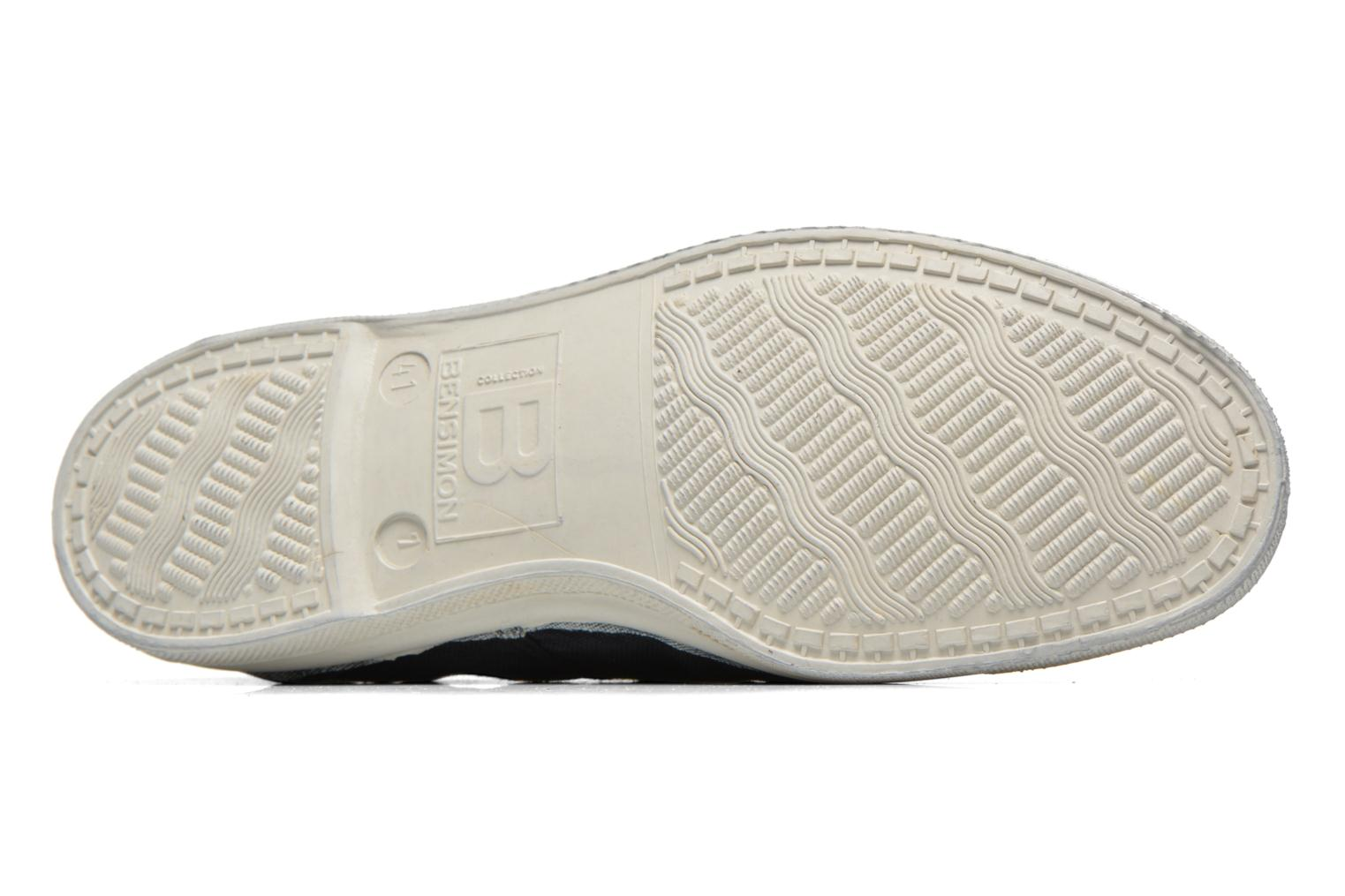 Sneakers Bensimon Tennis Lacets H Sort se foroven