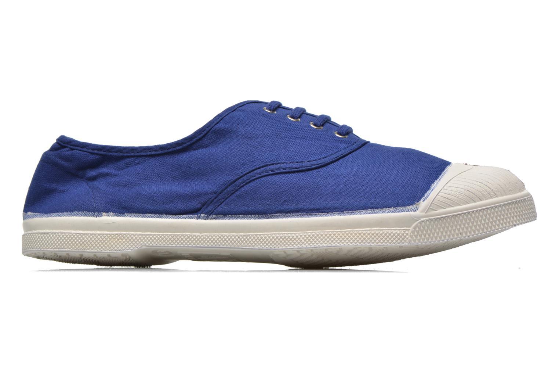 Baskets Bensimon Tennis Lacets H Bleu vue derrière