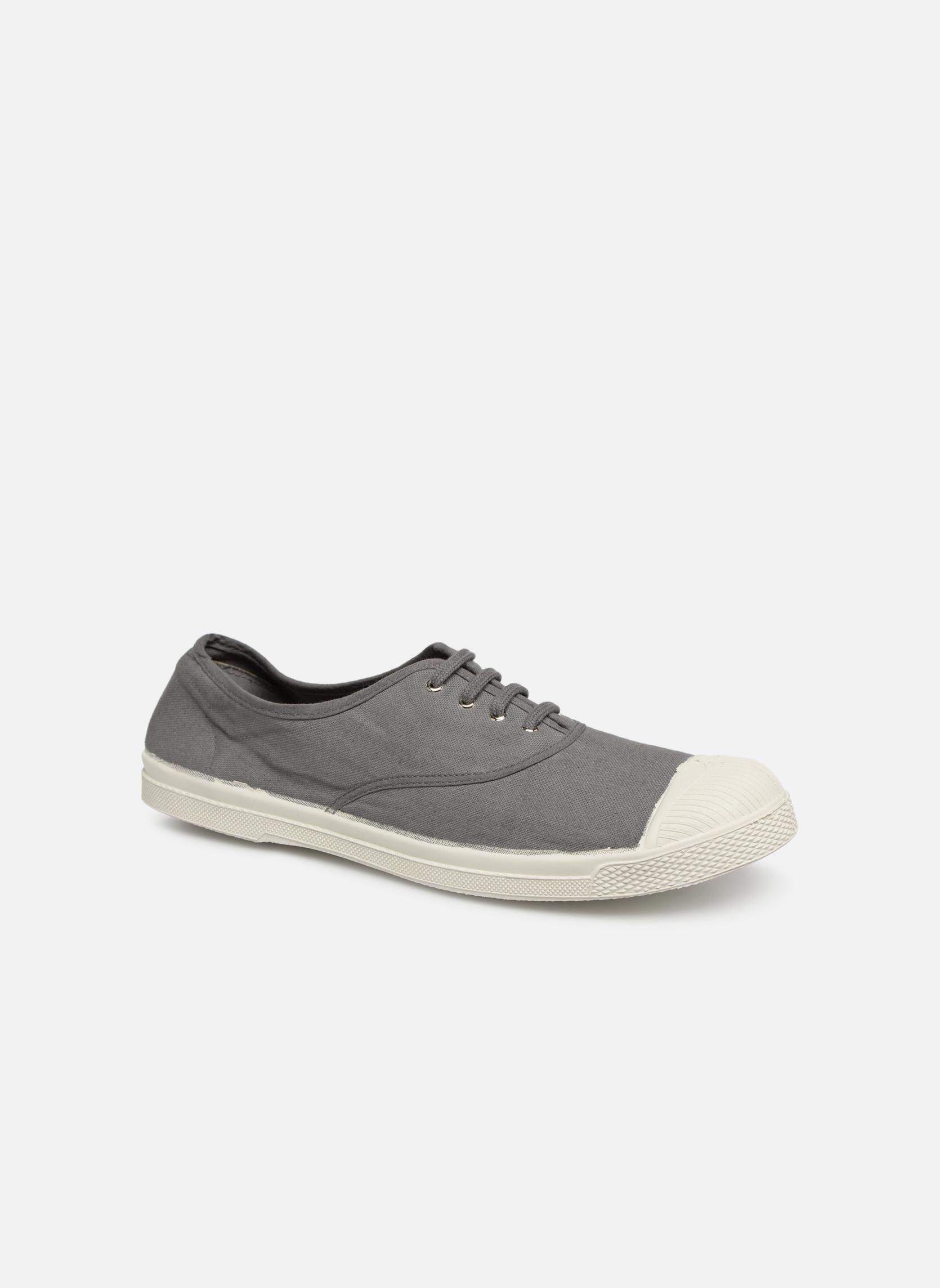 Sneakers Bensimon Tennis Lacets H Grå detaljeret billede af skoene