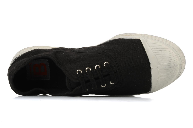Sneakers Bensimon Tennis Lacets H Zwart links