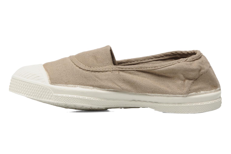 Sneakers Bensimon Tennis Elastique E Beige voorkant