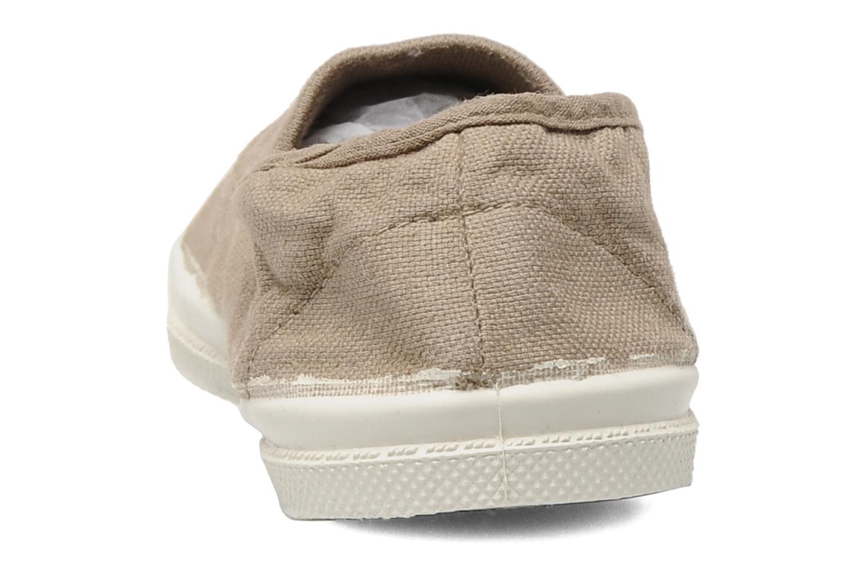 Sneakers Bensimon Tennis Elastique E Beige rechts