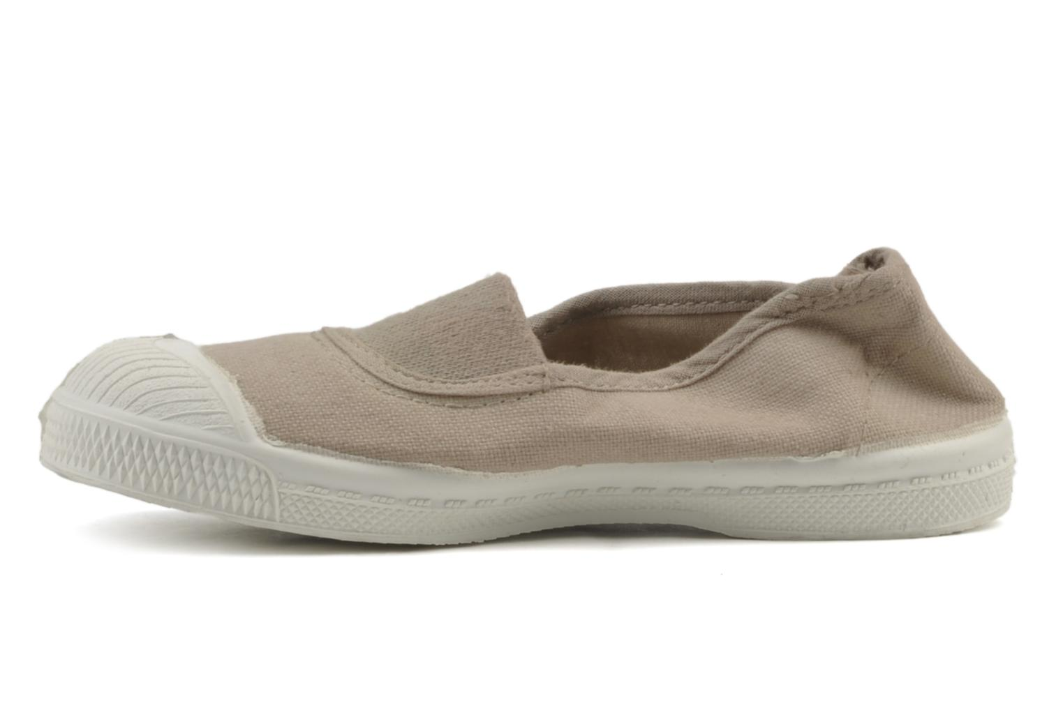 Trainers Bensimon Tennis Elastique E Beige front view