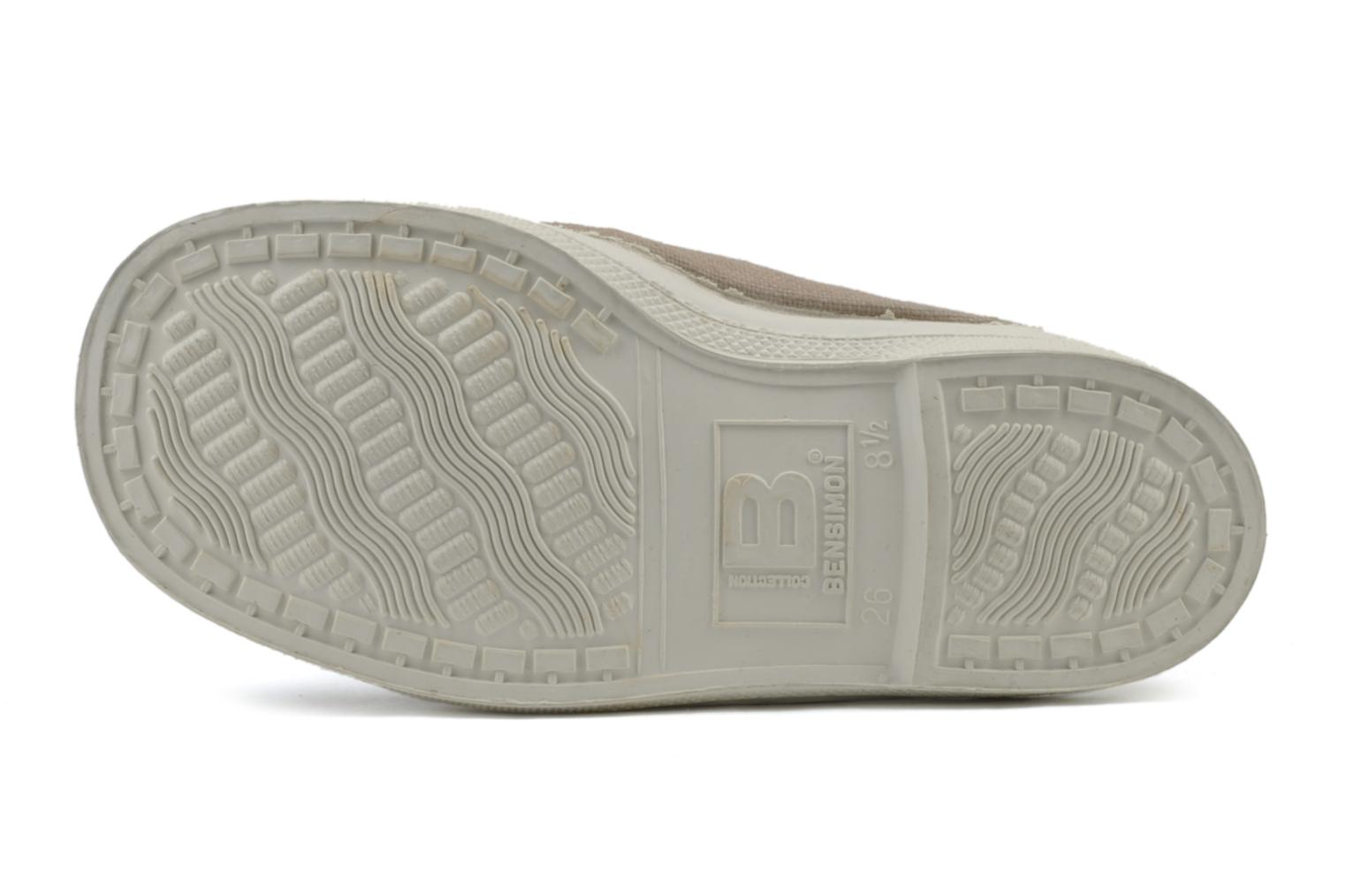 Trainers Bensimon Tennis Elastique E Beige view from above