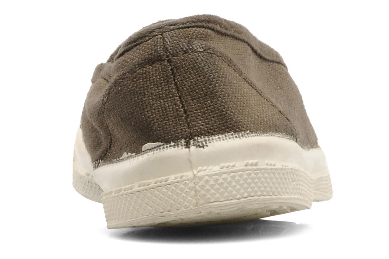 Sneakers Bensimon Tennis Elastique E Bruin rechts