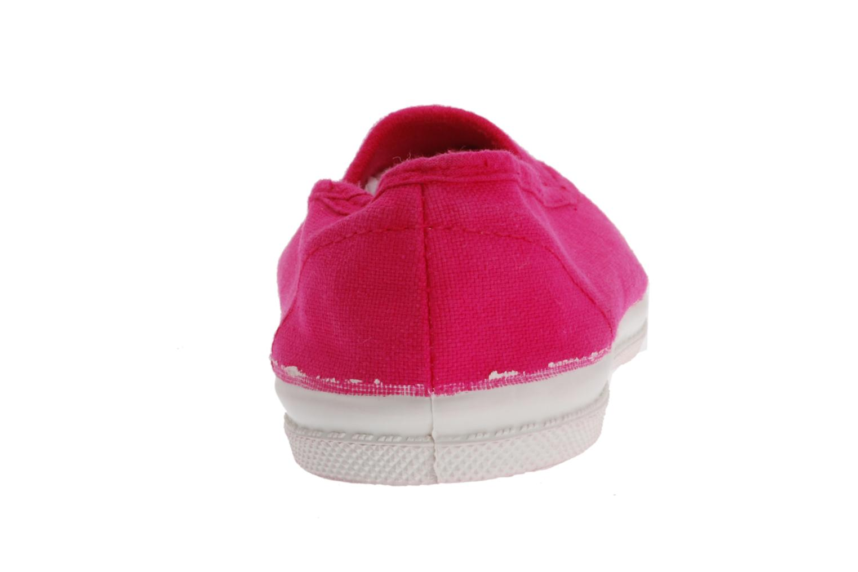 Sneaker Bensimon Tennis Elastique E rosa ansicht von rechts