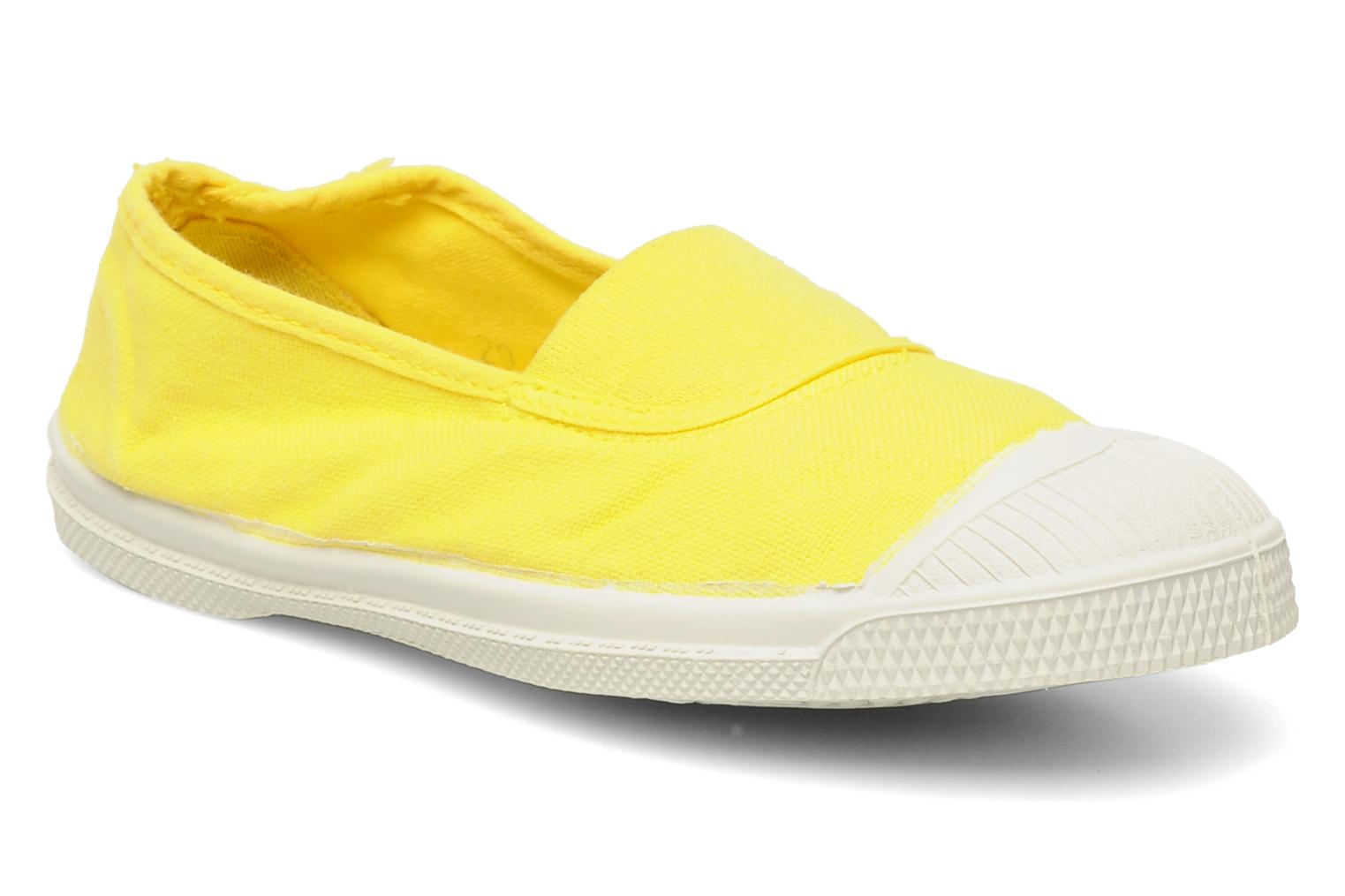 Sneakers Bensimon Tennis Elastique E Geel detail