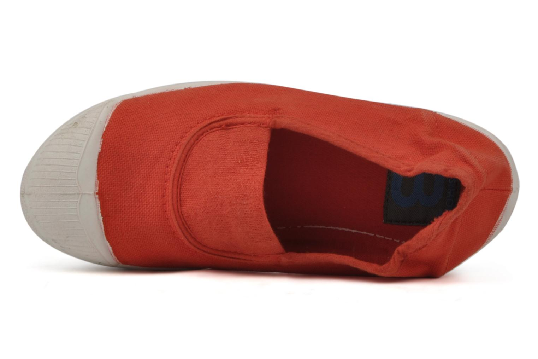 Sneaker Bensimon Tennis Elastique E rot ansicht von links