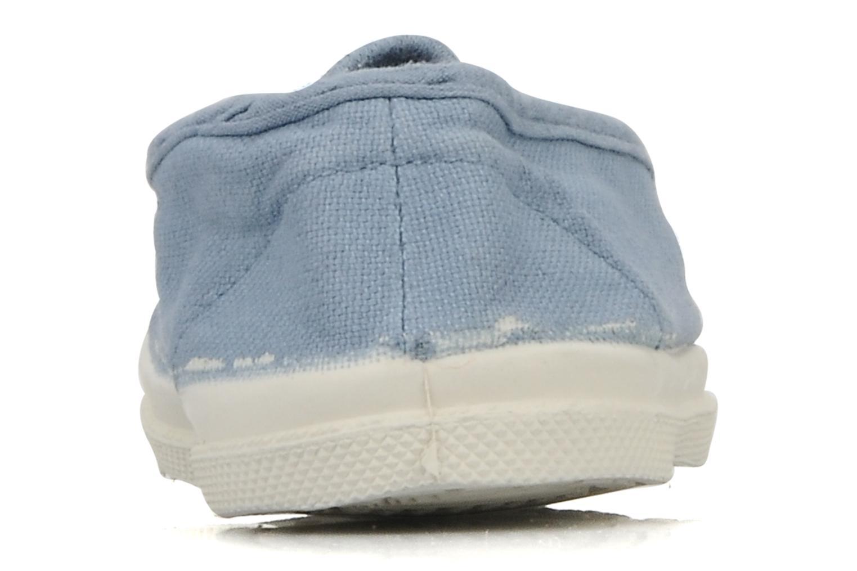 Sneakers Bensimon Tennis Elastique E Blauw rechts