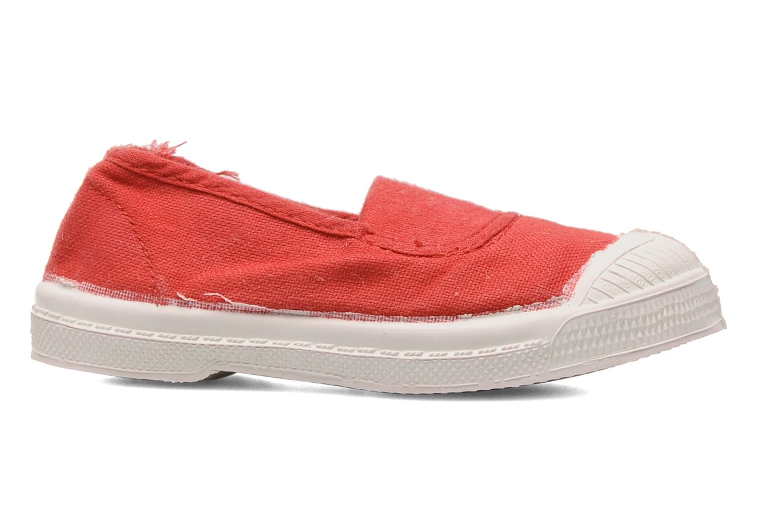 Baskets Bensimon Tennis Elastique E Orange vue derrière