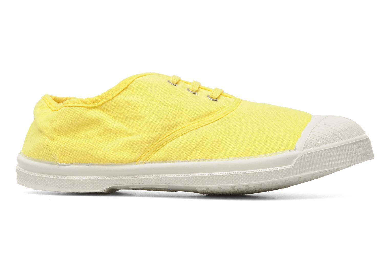 Sneaker Bensimon Tennis Lacets E gelb ansicht von hinten