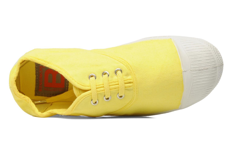 Sneaker Bensimon Tennis Lacets E gelb ansicht von links