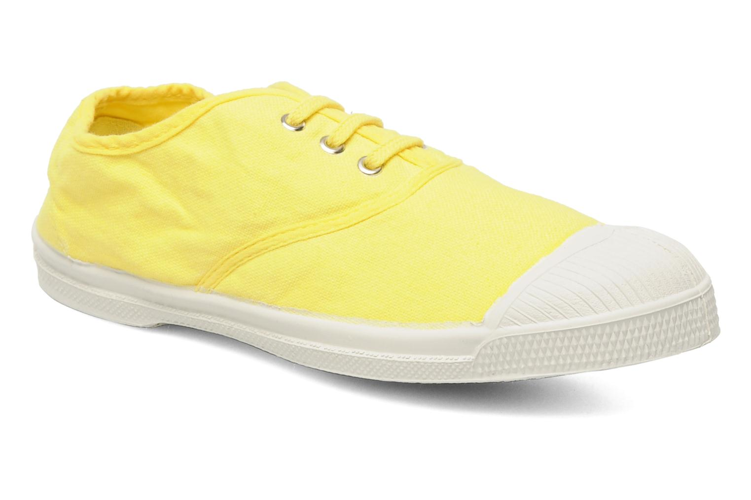 Sneakers Bensimon Tennis Lacets E Geel detail