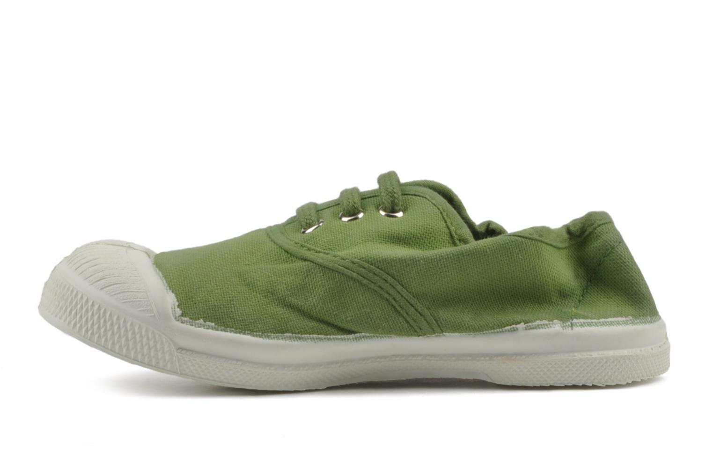 Sneakers Bensimon Tennis Lacets E Grön bild från framsidan