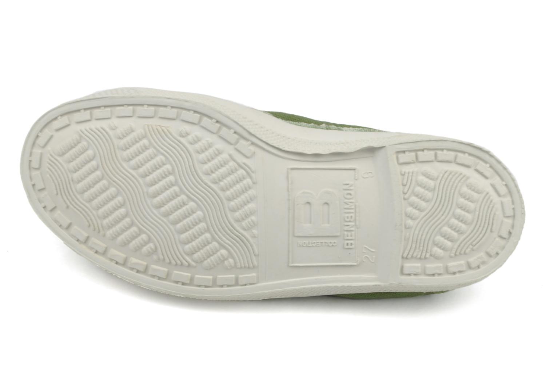 Sneakers Bensimon Tennis Lacets E Grön bild från ovan