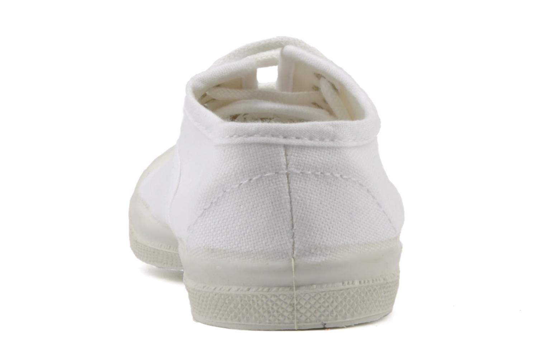 Baskets Bensimon Tennis Lacets E Blanc vue droite