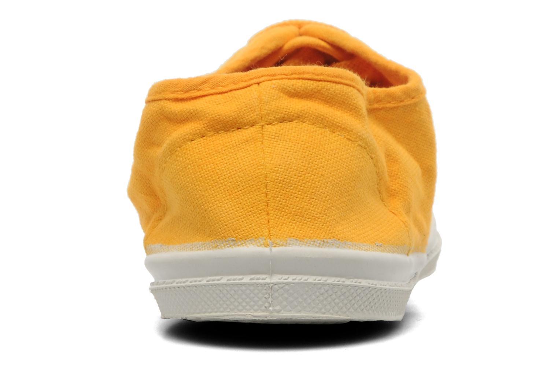 Sneakers Bensimon Tennis Lacets E Geel rechts