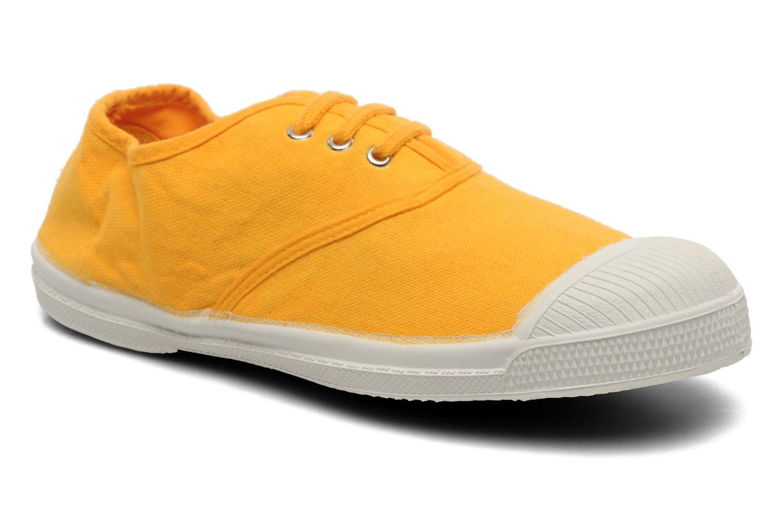 Sneakers Bensimon Tennis Lacets E Geel detail